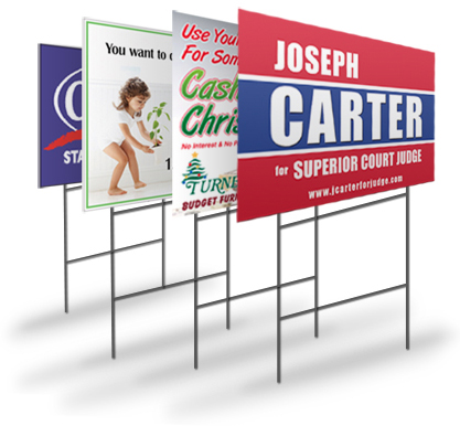 Lawn Signs and Outdoor Signage - Tees N More