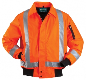 HIGH VISIBILITY WINTER BOMBER JACKET