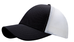 COTTON TWILL 6-PANELS MESH BACK CAP