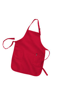 FULL-LENGTH APRON WITH 2 POCKETS