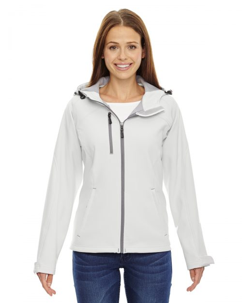 NORTH END PROSPECT TWO-LAYER FLEECE HOODED JACKET