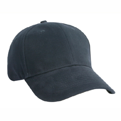 CONSTRUCTED HEAVY BRUSHED COTTON CAP