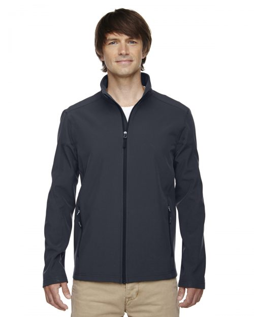 TWO-LAYER FLEECE BONDED SOFT SHELL JACKET