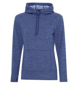 ATC™ DYNAMIC HEATHER FLEECE HOODED LADIES' SWEATSHIRT