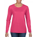 Heavy Cotton semi-fitted ladies long sleeve t-shirt